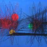 Roberto Crippa, Spirali, 1952, olio su tela, 90x130 cm