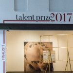 Talent Prize finalist works intallation view photo Francesca Salvati
