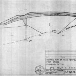 Van Ginkel Associates and Ove Arup & Partners, formwork drawing for the Foot Bridge in Bowring Park, St. John's, Newfoundland, Canada, 1959 (image courtesy City of St. John's Archives)