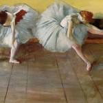 Two Ballet Dancers Edgar Degas