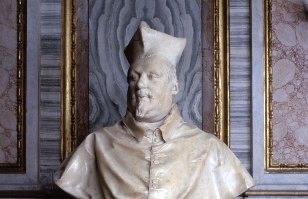 Gian-Lorenzo-Bernini-Busto-del-Cardinale-Scipione-Borghese-1632.
