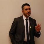Marco Marcocci, neo presidente Confcooperative Roma, foto Francesca Salvati