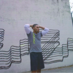 Still of H&M's video from its promotional campaign, featuring artwork by Revok (image via PACER)