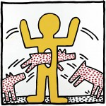 Keith Haring, untiteled, 1982, copyright Keith Haring Foundation
