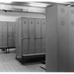 5B) Sharon Lockhart, Men's Locker Room Women's Locker Room BMW AG, Berlin Plant, Germany (detail), 1998