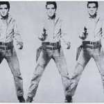 Andy Warhol, Triple Elvis, 1963. Collezione Agresti