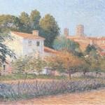 Étienne Terrus, Vue d'Elne, 1900