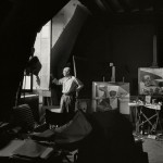 Herbert List. Pablo Picasso nel suo studio.Francia, Parigi, 7 Rue des Grands Augustins, 1948. © Herbert List/Magnum Photos