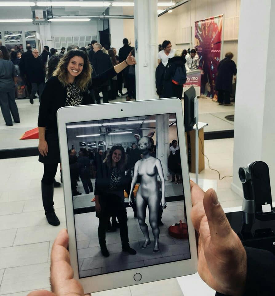 presentazione dell'App The Magic     Rabbit alla Clio Art Fair di NYC 2018