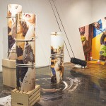 Daniela Kostova, Loose 2016, Installation view, Air gallery, NY