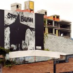 Richard Serra, Stop Bush, 2010