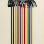 Jim Dine Tool Box, 1966. Portfolio di 10 serigrafie con collage, cm 60,5 x 47,5. Courtesy Lorenzelli Arte, Milano © Jim Dine by SIAE 2018.