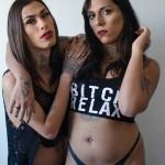 Siindy and Sophia © Camila Falcão, Abaixa Que É Tiro