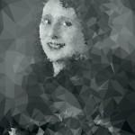 Margherita Sarfatti con pelliccia, fotografia dello studio Riess di Berlino, 1929, Mart, Archivio del '900, Fondo Sarfatti. Rielaborazione grafica