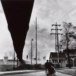 Rudolf Holtappel Condotto di gas d'altoforno (Regione della Ruhr) / Furnace Gas Pipe (Ruhr Area), 1958-1962 Stampa ai sali d'argento / gelatin silver print, 34,5 x 34 cm © Estate of Rudolf Holtappel