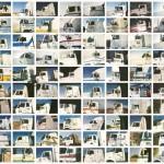 Annica Karlsson Rixon Camionisti (bianchi) / Truckers (white), 1994-1999 738 stampe digitali a colori montate su d-bond / 738 digital prints mounted on d-bond 8,5 x 12,5 cm ciascuna / each © Annica Karlsson Rixon