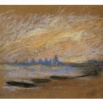 Claude Monet, La Tamise