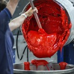 LEMANS FACTORY PAINT MIXING RED 1