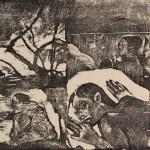 Paul Gauguin, Manao Tupapau et femme Maori