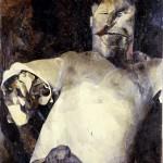 03) Ennio Calabria - STALIN - 1964, olio su tela, cm. 108x80