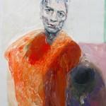15) Ennio Calabria - Verità nell'enfasi 2011 - acrilico su tela, cm. 90x70