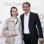 Pedro Neves Marques premiato da Carlo Bach, direttore artistico Illy