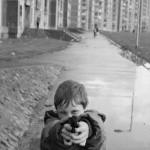 Ballymun, quartier nord de Dublin © Martine Franck, Magnum Photos