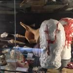 Emiliano Maggi, Putto n.3 e n.6, 2017, Coralli su ceramica smaltata, Courtesy l'Artista