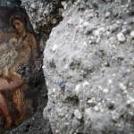 Nuove scoperte a Pompei: affresco di Leda e il cigno © Cesare Abbate