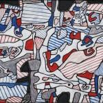 Jean Dubuffet, Ostracisme rend la monnaie © Adagp, Paris
