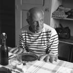 Robert Doisneau, Les pains de Picasso, Vallauris 1952 © Atelier Robert Doisneau