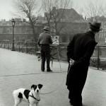 Robert Doisneau, Un chien du pont des Arts, 1953 © Atelier Robert Doisneau