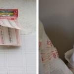 Petra Noordkamp, Fragile Handle with Care, installatie, still