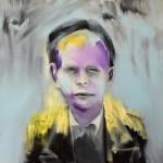 Portrait Study - Child oil on canvas 40 X 40 cm 2018