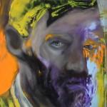 Portrait Study oil on cancas 150 X 100 cm 2018