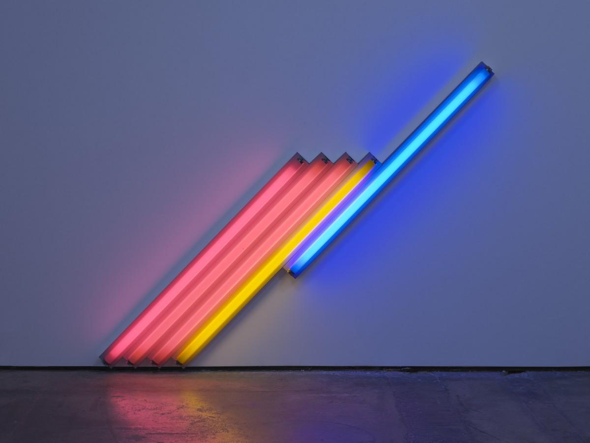 Dan Flavin. Courtesy David Zwirner & Cardi Gallery