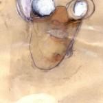 Roberto Cuoghi, Il Coccodeista (self-portrait with Pechan prisms), 1997 © Roberto Cuoghi