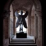 Roberto Cuoghi, Il Coccodeista (self-portrait with Pechan prisms), 1997 © Roberto Cuoghi.