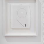 Nina_Carini, Ho disegnato tante porte per andare a vedere quella stella, disegno con filo cotone su carta cotone e acquarello, 18 x 23 cm, foto Lorenzo Palmieri