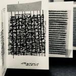Venia Dimitrakopoulou, Senza titolo, 2014, leporello (dettaglio)_inchiostro su carta