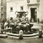 Pompeo Molins (1827-1900 ca.). Fontana delle Tartarughe, 1868