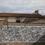 Sten Lex, Paesaggio Urbano III, Stencil Poster, Arezzo, 2015 LR
