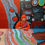 Yayoi Kusama drawing in Kusama - Infinity © Tokyo Lee Productions, Inc. Courtesy of Magnolia Pictures