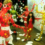 Yayoi Kusama in the Orez Gallery in the Hague (1965),Photo credit Harrie Verstappen, courtesy of Magnolia Pictures