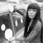 "Yayoi Kusama next to her ""Dot Car"" (1965) Photo credit Harrie Verstappen, courtesy of Magnolia Pictures"