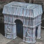 Christo_progetto Arco di Trionfo