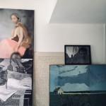 8) Aurelie Mathigot, veduta d'insieme di Photos Brodées