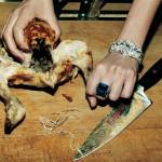 Untitled (Chicken), French Vogue - 1994 - © Helmut Newton Foundation, Berlin (2)