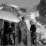 Bivacco Messner foto storica