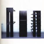 Jan Vercruysse, Tombeaux, veduta 1990 Galleria Pieroni. Foto Attilio Maranzano LR